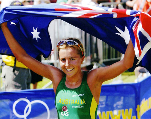Emma Snowsill, triathlete, 2008 Olympic winner, Australian triathlete, triathlon